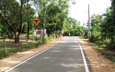 Constructing 100km of Roads in Kurunegala