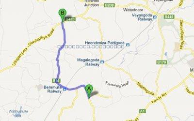 Aluthgama – Wigoda Road