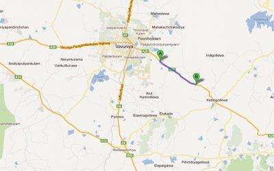 Kandy – Jaffna Road – A29 (167km-176km)