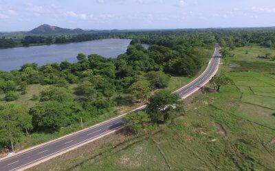 Kebithigollewa-Padaviya Road